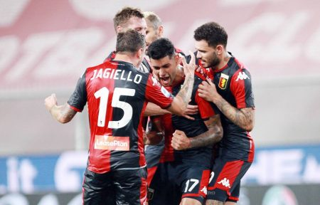 Genoa, the oldest professional club in Italy, survived relegation after beating Hellas Verona by 3-0. Genoa played with 9-men after two red cards.