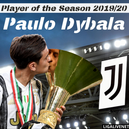Paulo Dybala is the player of the Season 2019/20