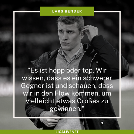 Lars Bender Sprüche