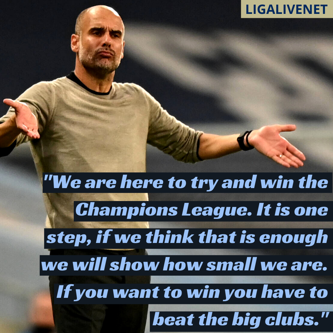 Pep Guardiola Champions League interview after Real Madrid defeat