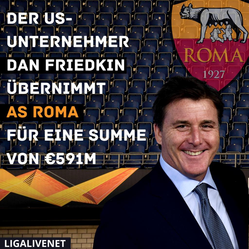 Dan Friedkin - der neue AS Roma Besitzer