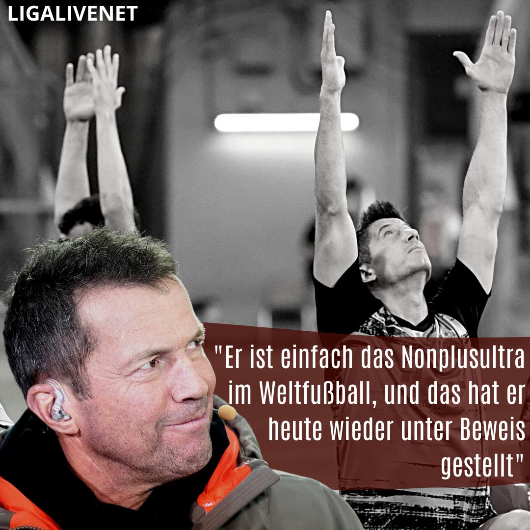 Lothar Matthäus über Robert Lewandowski
