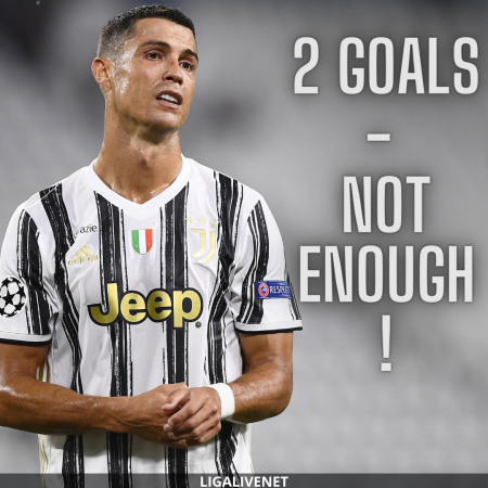 Ronaldo after Juventus knock out