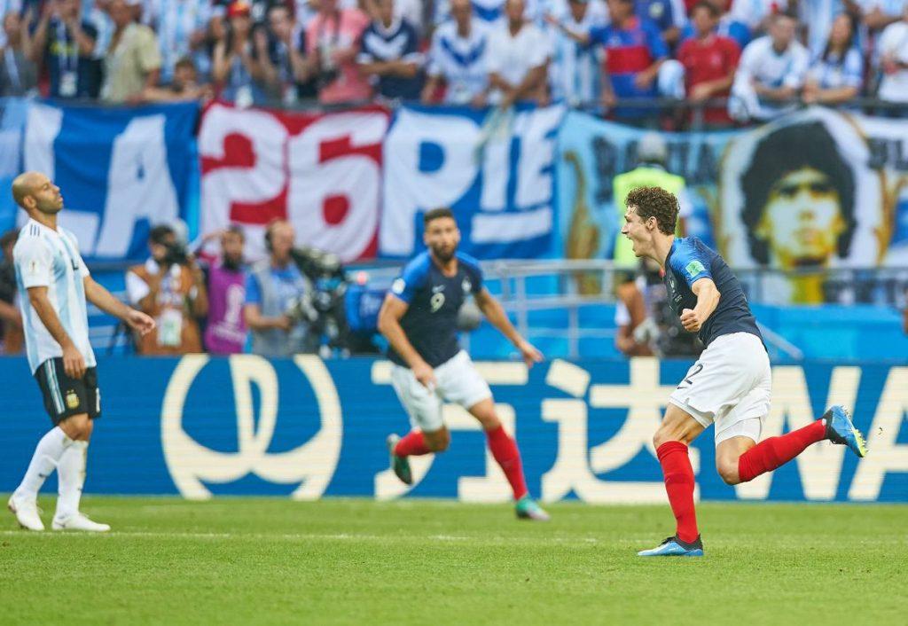 Benjamin Pavard Frankreich Argentinien WM 2018