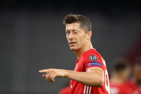 Robert Lewandowski reaches another goal scoring milestone with Bayern Munich