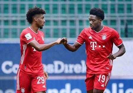 Coman, Davies, Bayern