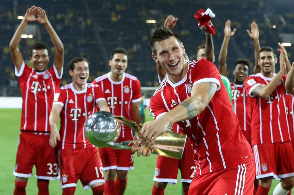 Niklas Süle Supercupsieger 2017 FC Bayern München Borussia Dortmund