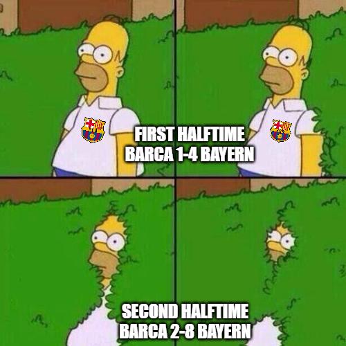Barca Bayern Meme