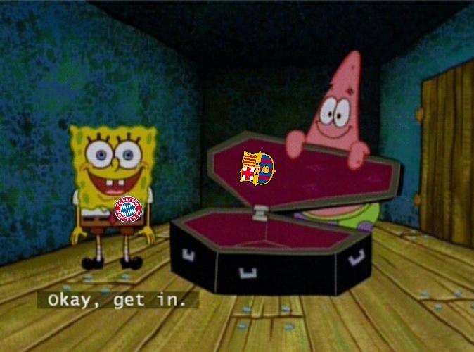 Barcelona Bayern Meme