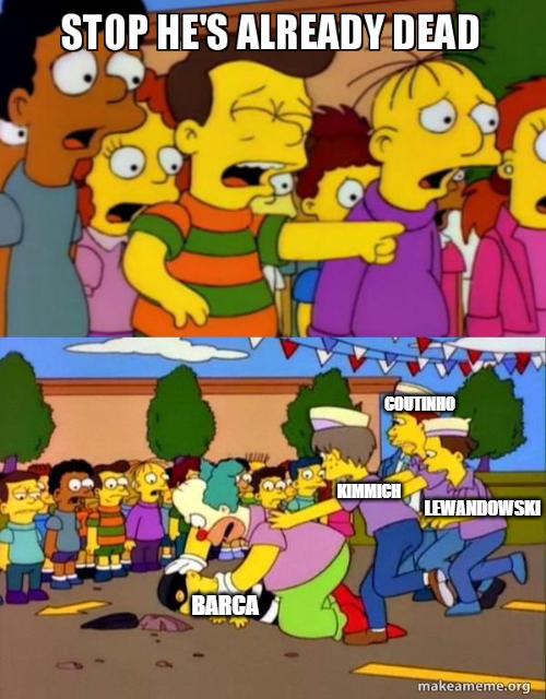 Barcelona 2-8 Bayern Munich meme