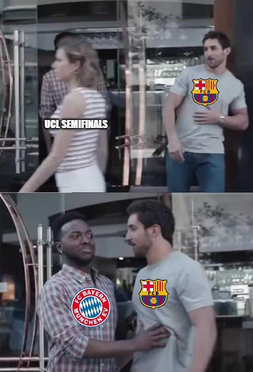 Champions League Quarterfinals - Barcelona vs Bayern Munich
