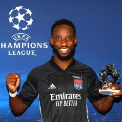 Moussa Dembele scored twice to knock Man City out of Champions League