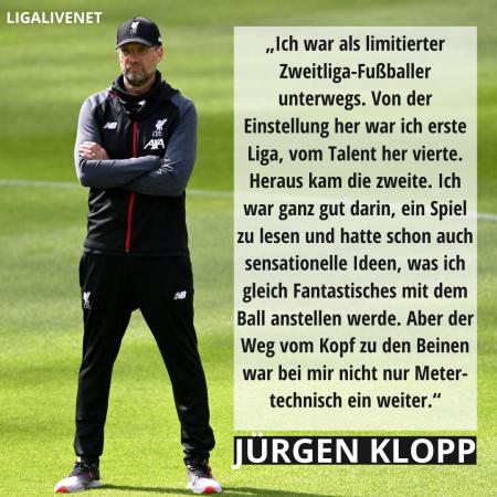 KLOPP ÜBER SEINE KARRIERE ALS FUSSBALLER