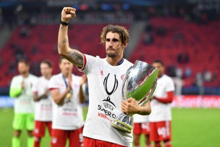 Javi Martinez UEFA Supercup