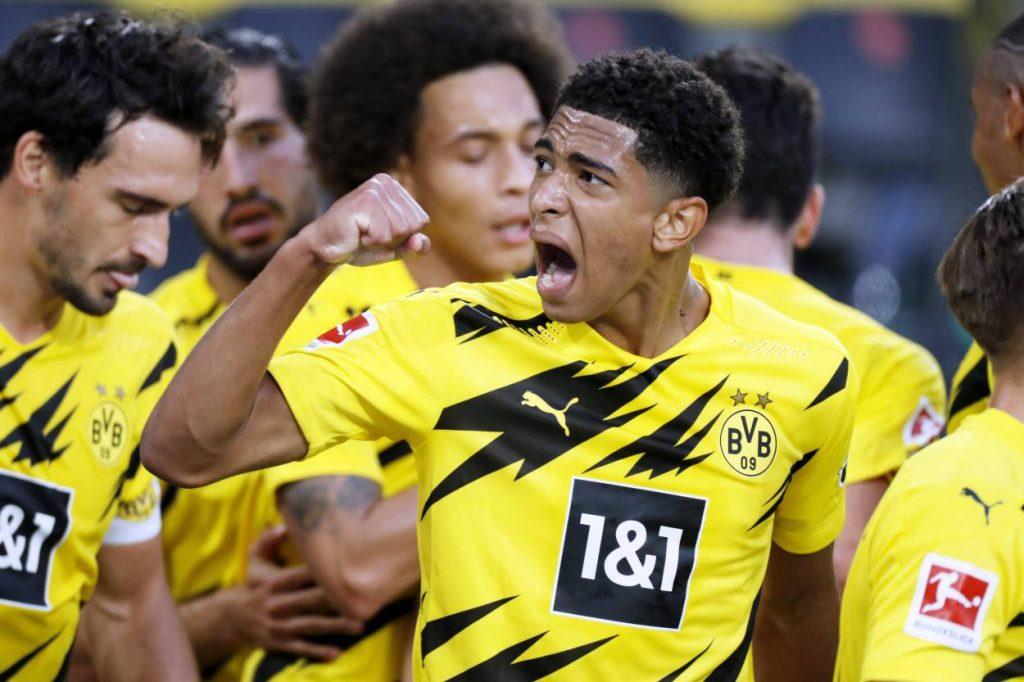 Jude Bellingham Borussia Dortmund Borussia Mönchengladbach 3:0