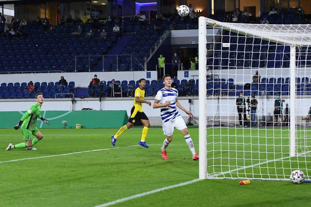 Jude Bellingham MSV Duisburg Borussia Dortmund 0:5