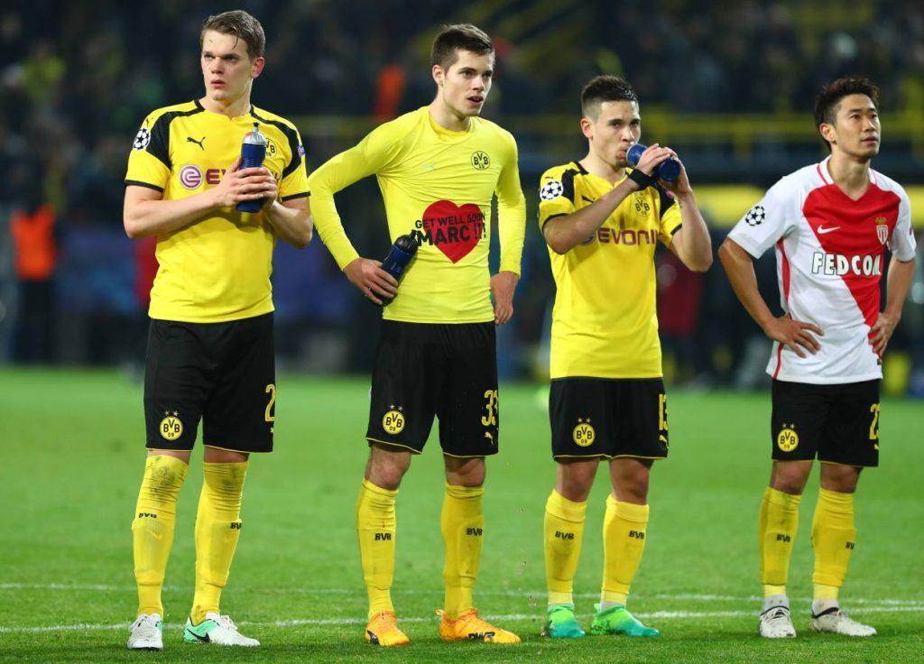 Borussia Dortmund AS Monaco 2017
