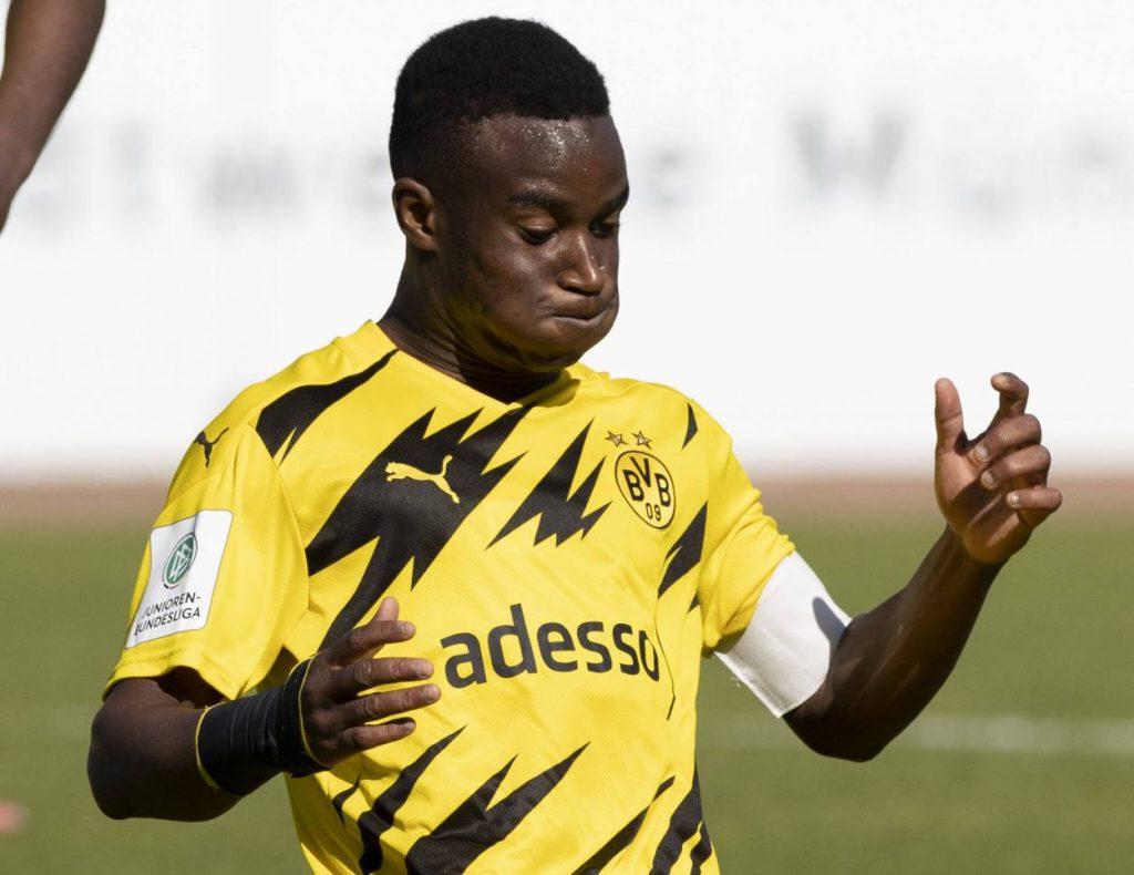 Youssoufa Moukoko Borussia Dortmund U19