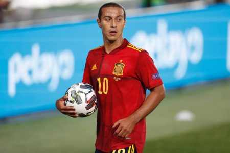 Bayern playmaker Thiago Alcantara speaks about his next clubs as he faces the media away on international duty with Spain.