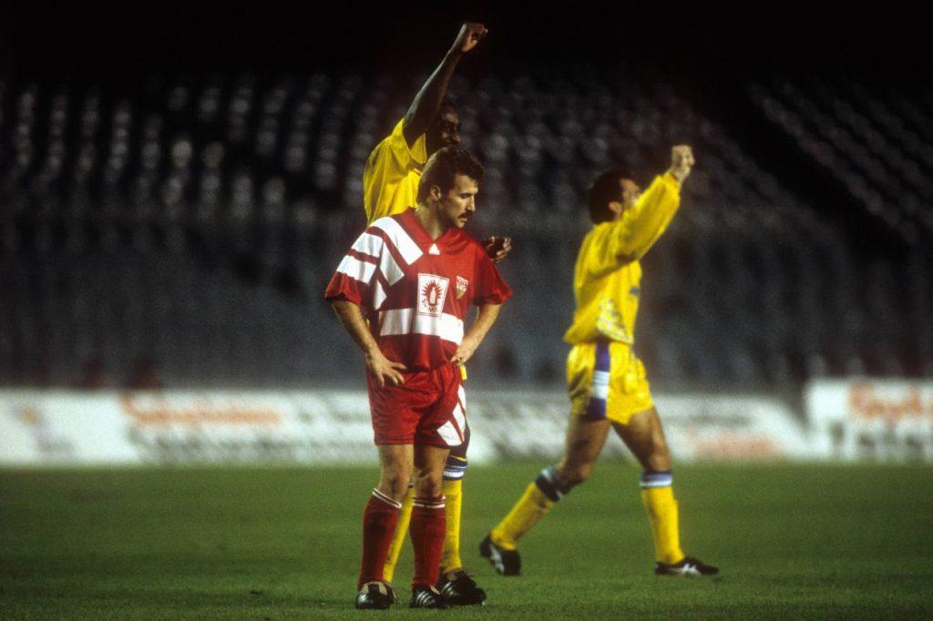 Fritz Walter VfB Stuttgart Leeds United 1992