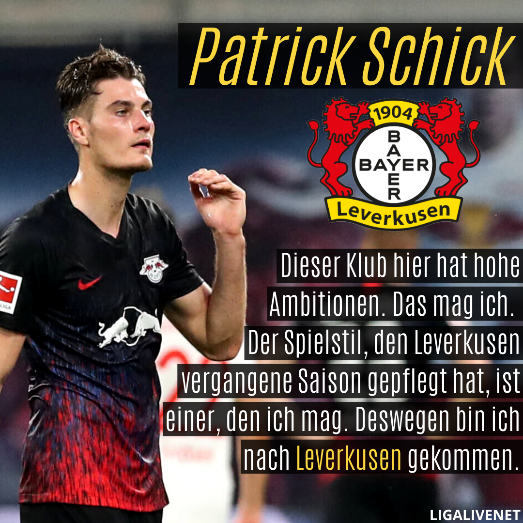 Patrick Schick Leverkusen