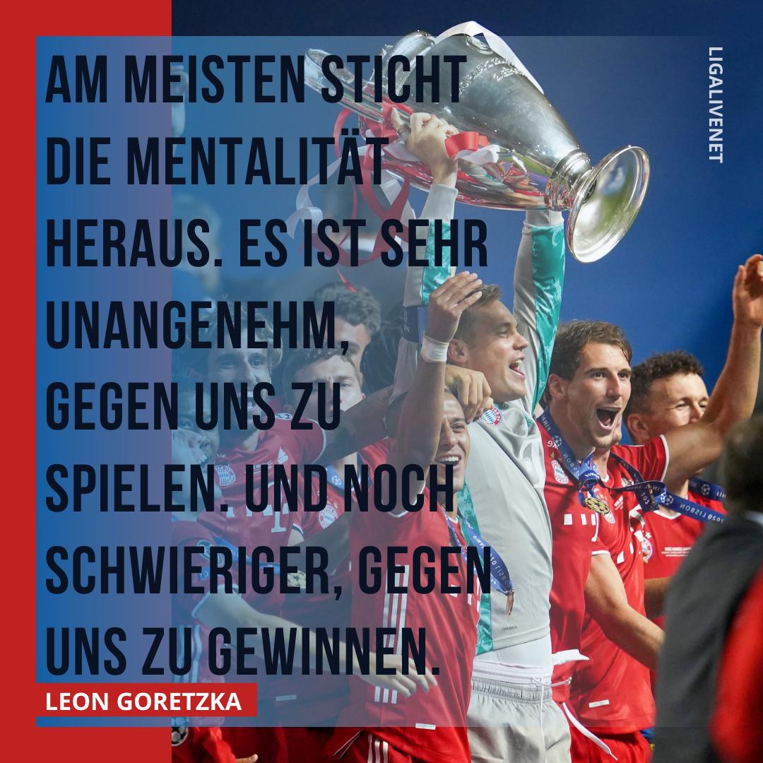 Goretzka über Bayern