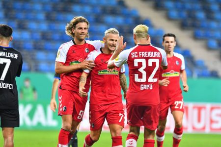 DFB-Pokal, pokal, Waldhof Mannheim, SC Freiburg