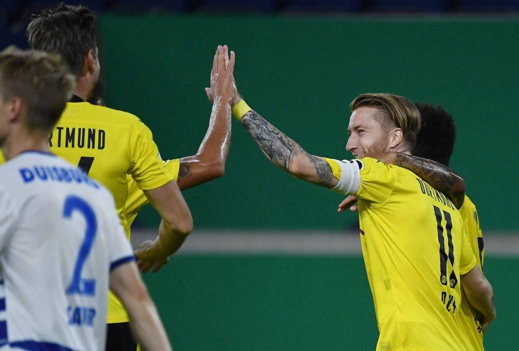 MSV Duisburg Borussia Dortmund Marco Reua