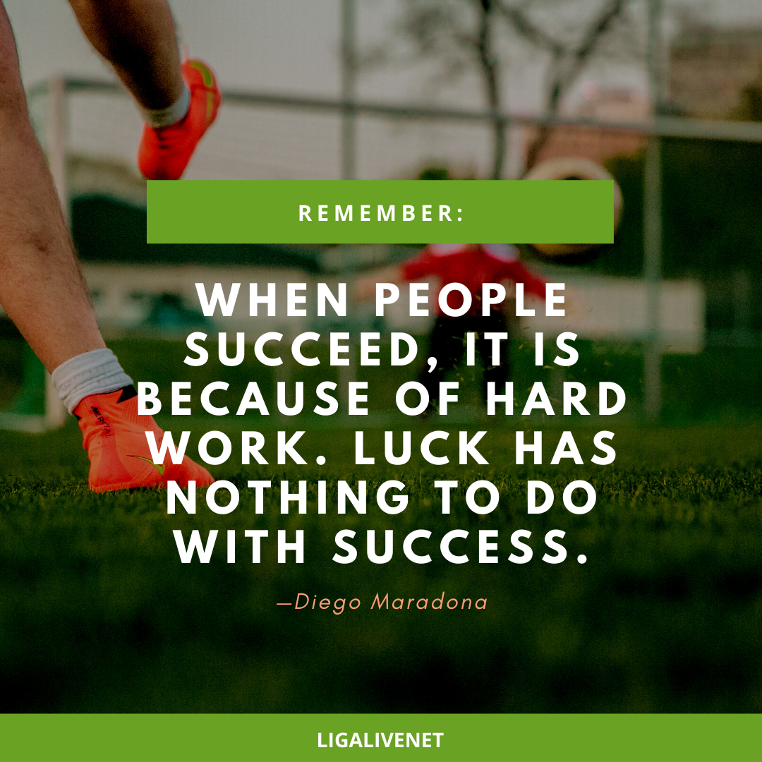 Diego Maradona motivational quote