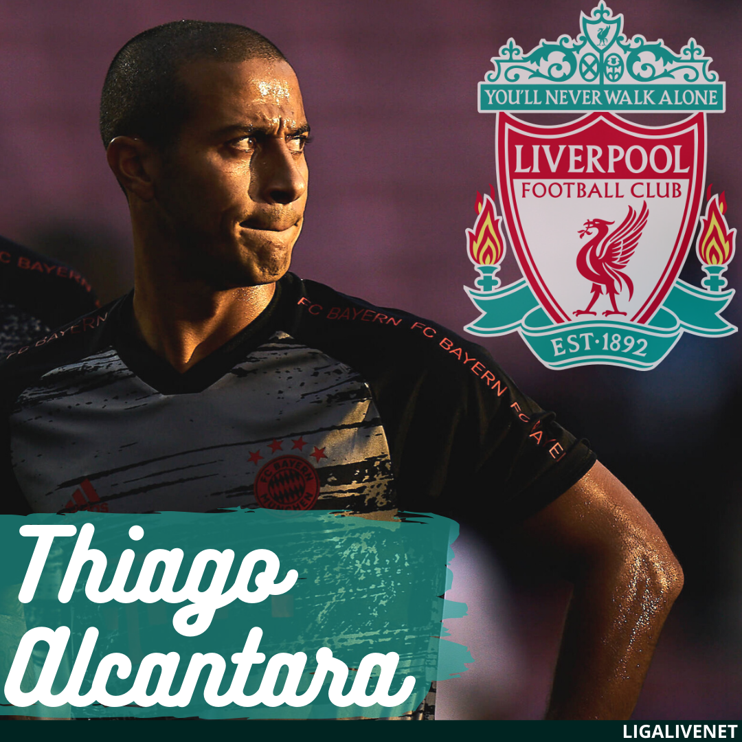 Thiago Alcantara says goodbye to Bayern Munich as the Spanish midfielder agrees fee to join Premier League Champions, Liverpool.