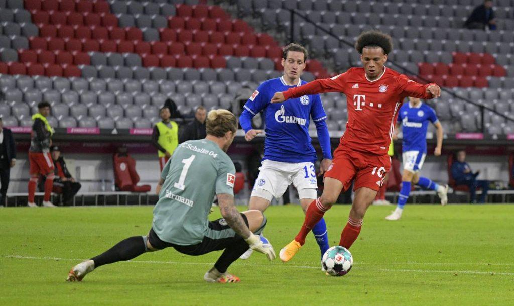 Leroy Sané FC Bayern FC Schalke 04