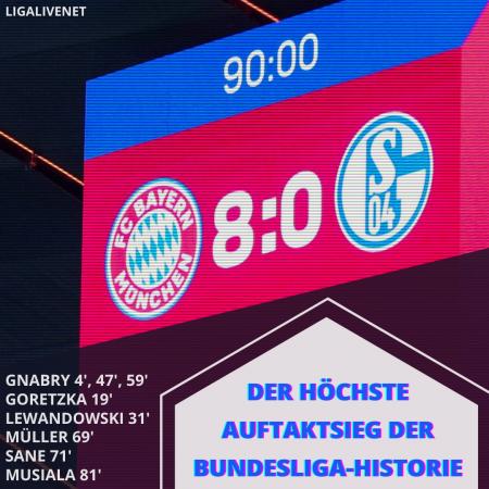 Bayern 8 - 0 Schalke