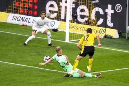 Fußball Bundesliga, Saison 2020 / 2021, 1. Spieltag, Borussia Dortmund - Borussia Mönchengladbach, Giovanni Reyna