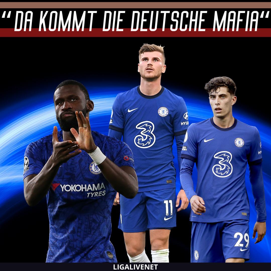 Werner, Rüdiger, Havertz