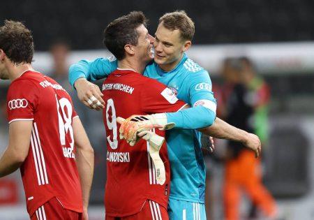 Neuer, Lewandowski, Bayern,