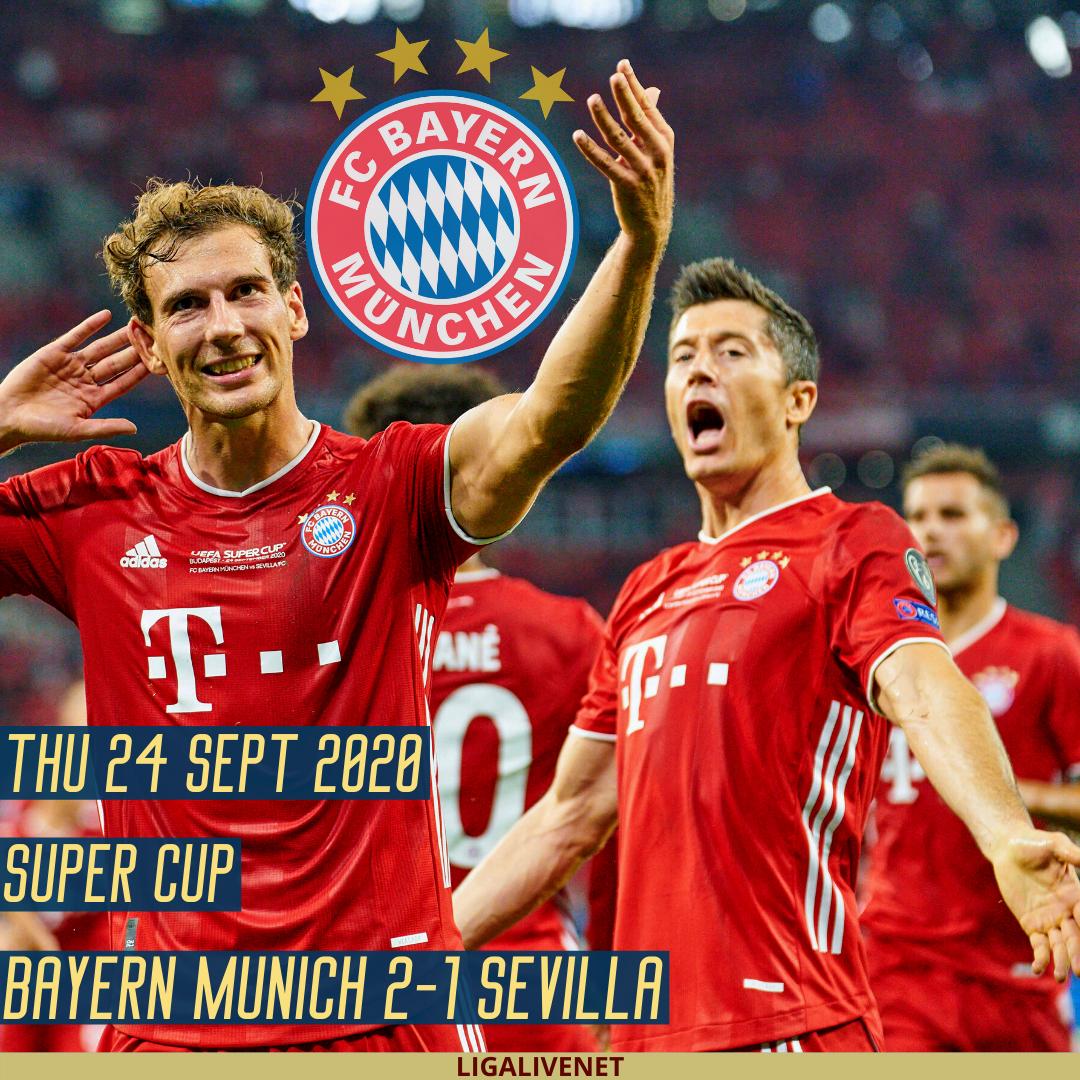 SUPER CUP Bayern Munich