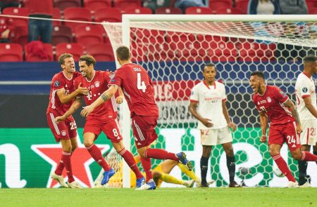FC Bayern Munich beat Sevilla by 2-1 and win UEFA Supercup. Javi Martinez scored a late winner for Hansi Flick's men.