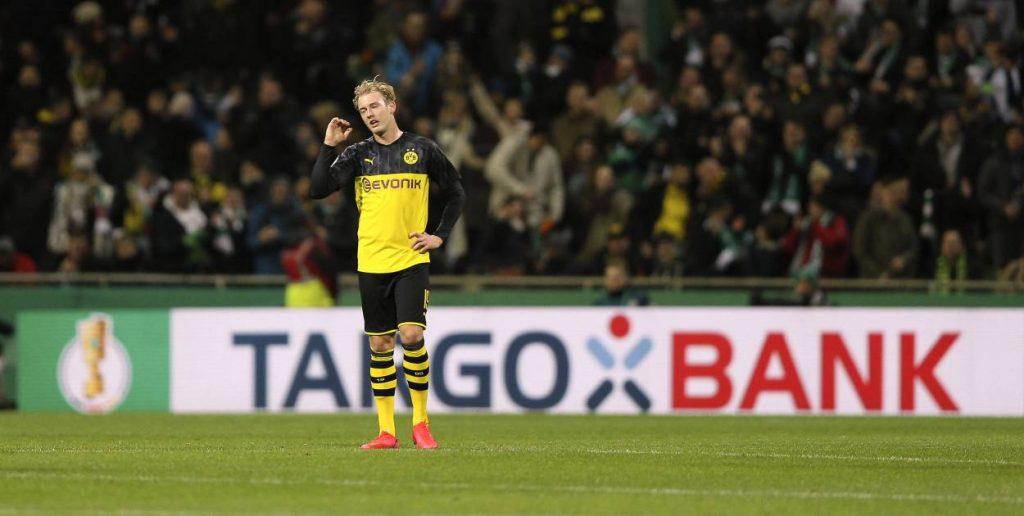 Julian Brandt Bremen BVB DFB-Pokal