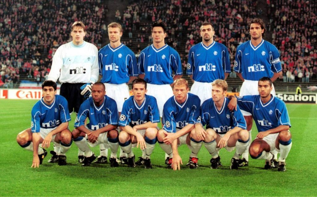 Claudio Reyna Glasgow Rangers FC Bayern 1999