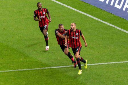 Bas Dost Hertha BSC Eintracht Frankfurt 1:3
