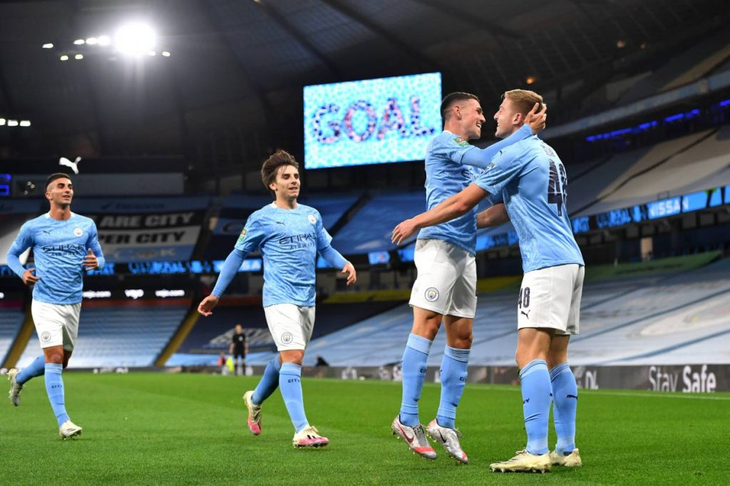 Phil Foden scored one and assisted the other in a 2-1 win over Bournemouth