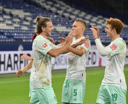 Niclas Füllkrug, Werder Bremen, Fußball Bundesliga, Spiel FC Schalke 04
