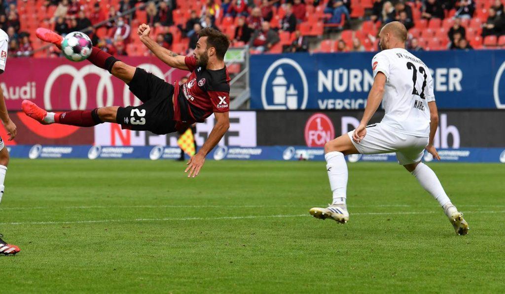 Zweiter Spieltag, 2. Bundesliga, 1.FC Nürnberg, SV Sandhausen