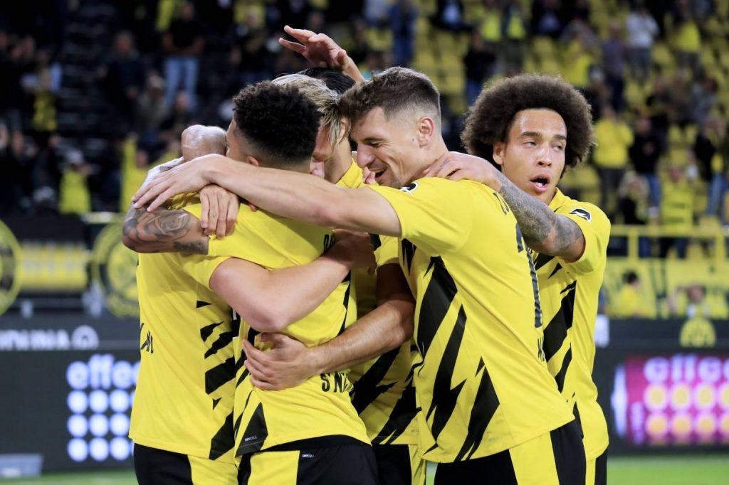 Borussia Dortmund Borussia Mönchengladbach 3:0 Thomas Meunier