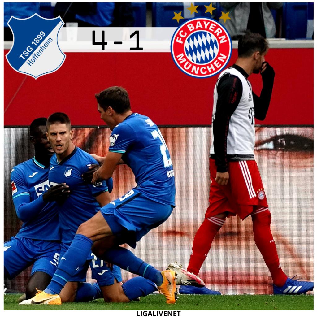 Hoffenheim Sieg gegen den FC Bayern im September 2020