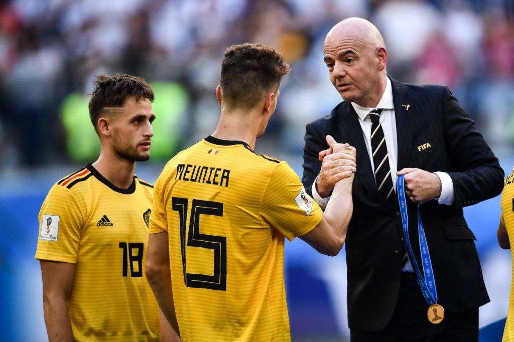 Thomas Meunier Belgien WM 2018
