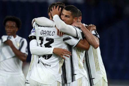 Juve came from behind twice in a 2-2 draw against AS Roma as Cristiano Ronaldo scored twice for the defending champions.