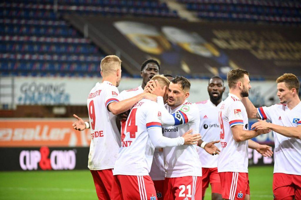 SC Paderborn - Hamburger SV 3:4