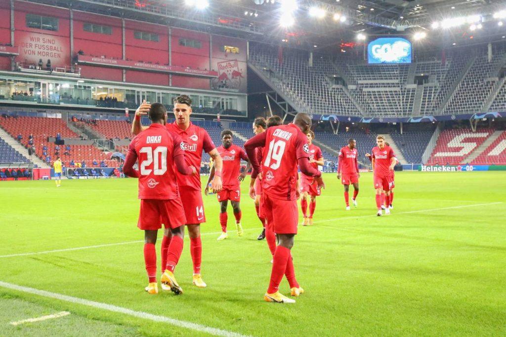 RB Salzburg Maccabi Tel Aviv 3:1