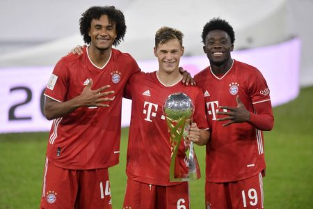 Joshua Kimmich scored the winner as Bayern Munich beat Borussia Dortmund 3-2 to lift DFL-Supercup in Allianz Arena.